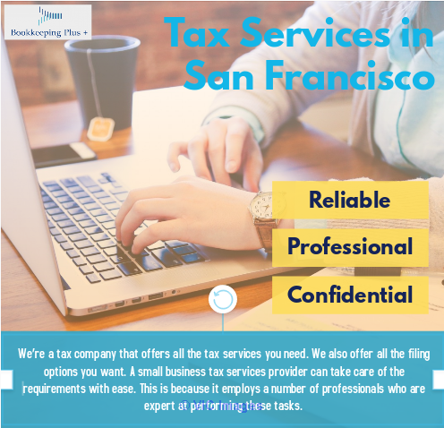 Tax Services in San Francisco - Bookkeeping Plus sanfrancisco